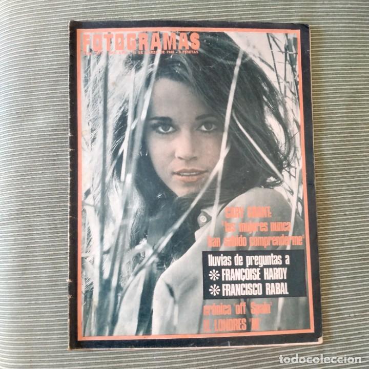 FOTOGRAMAS: NUMERO 1013 - 15 MARZO 1968 / JANE FONDA (Cine - Revistas - Fotogramas)