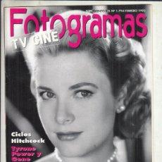 Cine: REVISTA FOTOGRAMAS Nº 1794 AÑO 1993. GRACE KELLY. CLICLOS HITCHCOCK. CINE JAPONES.. Lote 244711235