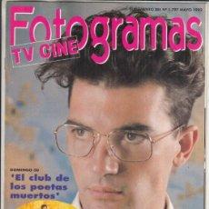 Cine: SUPLEMENTO REVISTA FOTOGRAMAS Nº 1797 AÑO 1993. ANTONIO BANDERAS. ALMODÓVAR PELÍCULA A PELÍCULA.. Lote 244711790