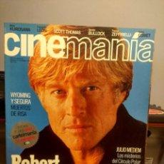 Cine: CINEMANIA : ROBERT REDFORD + RALPH FIENNES + LIAM NEESON + GRAN CARTEL L.A. CONFIDENTIAL. Lote 244721745