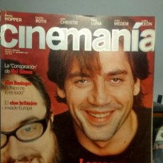 Cine: CINEMANIA : JAVIER BARDEM + ALEX DE LA IGLESIA + KIM BASINGER + DEMI MOORE + TIM ROBBINS + CHABROL. Lote 244722245