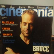 Cine: CINEMANIA : BRUCE WILLIS + VAL KILMER + TIM ROTH + NAHO NOVO + JORDI MOLLA. Lote 244723690