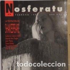 Cine: NOSFERATU Nº 8, FEBRERO -92,LA TENTACION DE SHAKESPEARE. Lote 244735685