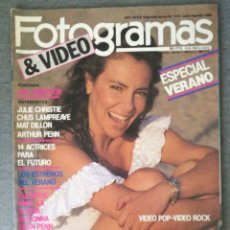 Cinema: REVISTA FOTOGRAMAS N.º 1721 1986 ANA OBREGÓN, MADONNA, JULIE CHRISTIE, CHUS LAMPREAVE, MAT DILLON. Lote 244836905