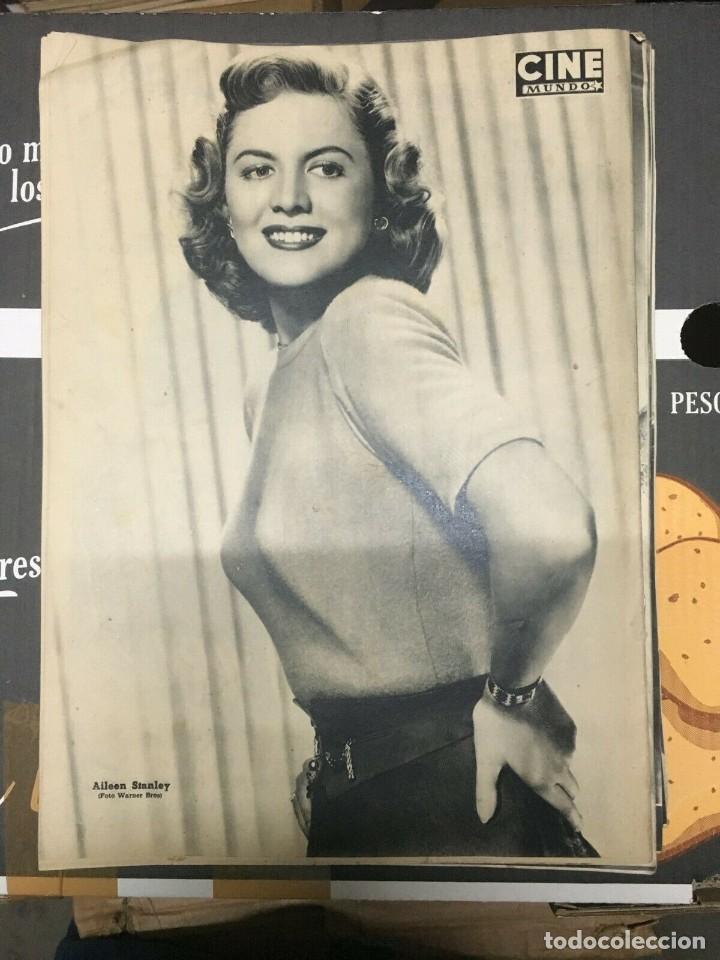 Cine: REVISTA CINE MUNDO Yvonne de Carlo Mario Cabre on Cover 1952 Aileen Stanley - Foto 3 - 244869715