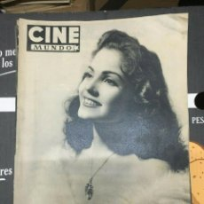 Cine: REVISTA CINE MUNDO CARMEN SEVILLA ON COVER 1952 DOROTHY LAMOUR ANN SHERIDAN. Lote 244869945