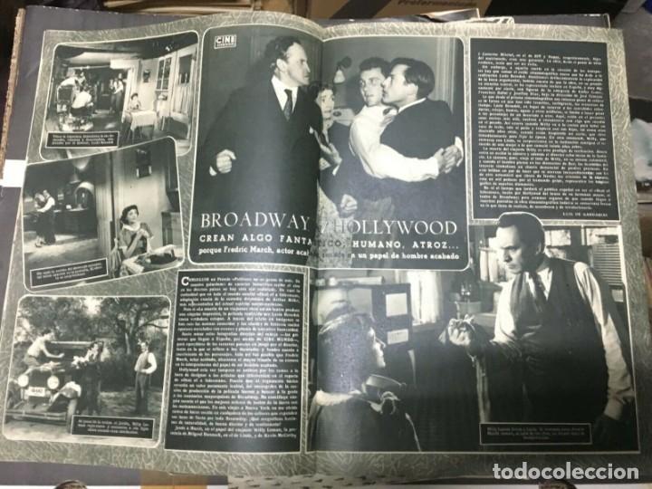 Cine: REVISTA CINE MUNDO Virginia Mayo on Cover 1952 Maria Felix Elizabeth Taylor Hollywood - Foto 3 - 244870770