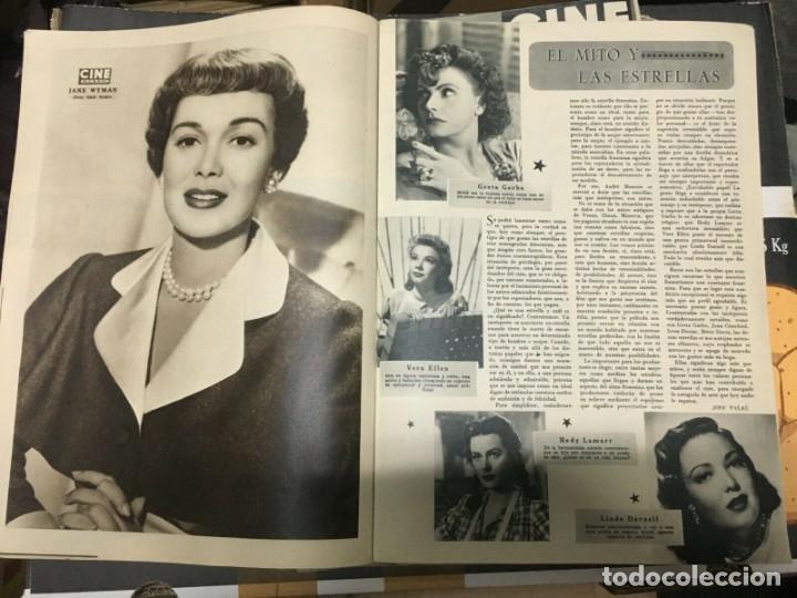 Cine: REVISTA CINE MUNDO Ludmila Tcherina on Cover 1952 Gustavo Rojo Stanton Griffis Jane Wyman - Foto 4 - 244871040