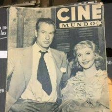Cine: REVISTA CINE MUNDO VIVIEN LEIGH GARY COOPER ON COVER 1952 PARSIFAL. Lote 244871310