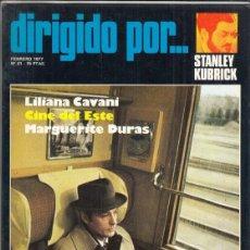 Cine: REVISTA DIRIGIDO POR Nº 41 AÑO 1977. STANLEY KUBRICK. LILIANA CAVANI. MARGUERITE DURAS.. Lote 245078745