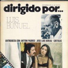 Cine: REVISTA DIRIGIDO POR Nº 26 AÑO 1975. LUIS BUÑUEL. ANTONI PADROS. JOSE LUIS RORAU.. Lote 245081900