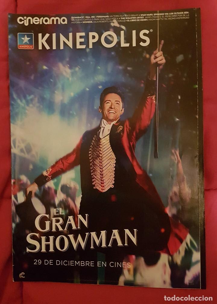 CINERAMA KINEPOLIS. EL GRAN SHOWMAN (Cine - Revistas - Cinerama)