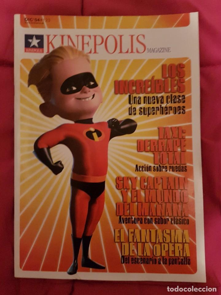 CINERAMA KINEPOLIS. LOS INCREÍBLES (Cine - Revistas - Cinerama)