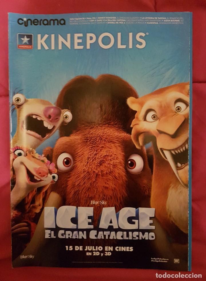 CINERAMA KINEPOLIS. ICE AGE EL GRAN CATACLISMO. (Cine - Revistas - Cinerama)