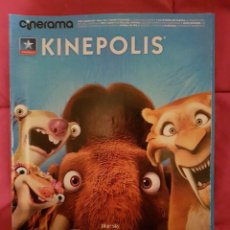 Cine: CINERAMA KINEPOLIS. ICE AGE EL GRAN CATACLISMO.. Lote 245124350