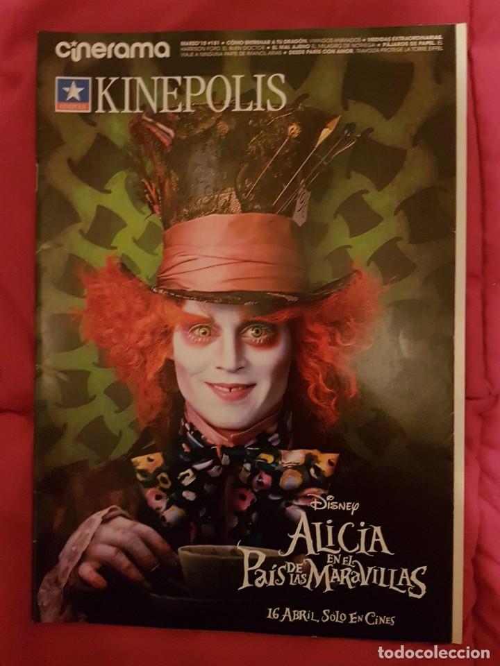 CINERAMA KINEPOLIS . ALICIA EN EL PAÍS DE LAS MARAVILLAS (Cine - Revistas - Cinerama)