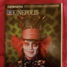 Cine: CINERAMA KINEPOLIS . ALICIA EN EL PAÍS DE LAS MARAVILLAS. Lote 245124725