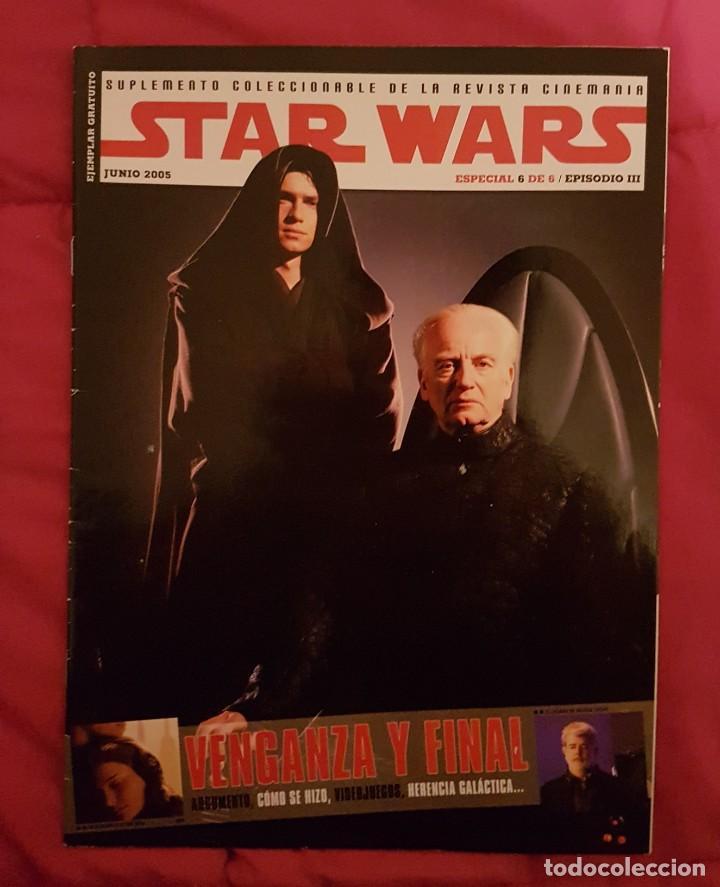 STAR WARS.SUPLEMENTO COLECCIONABLE 6/6 (Cine - Revistas - Cinemanía)