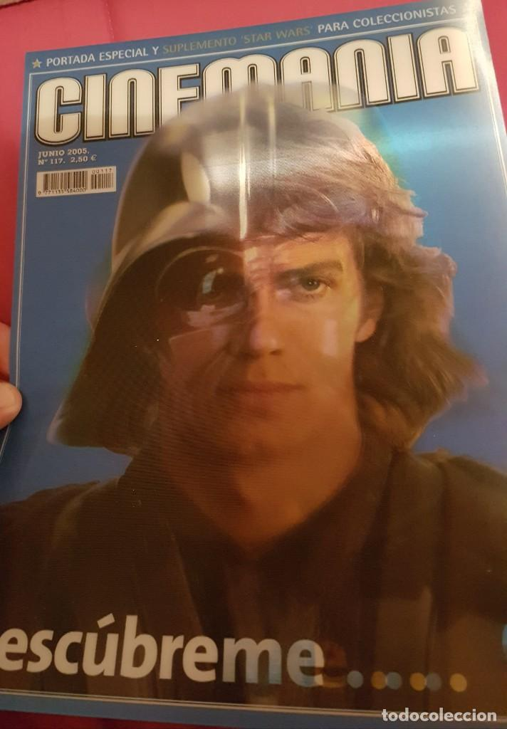 Cine: Portada revista cinemania Star wars - Foto 2 - 245127500