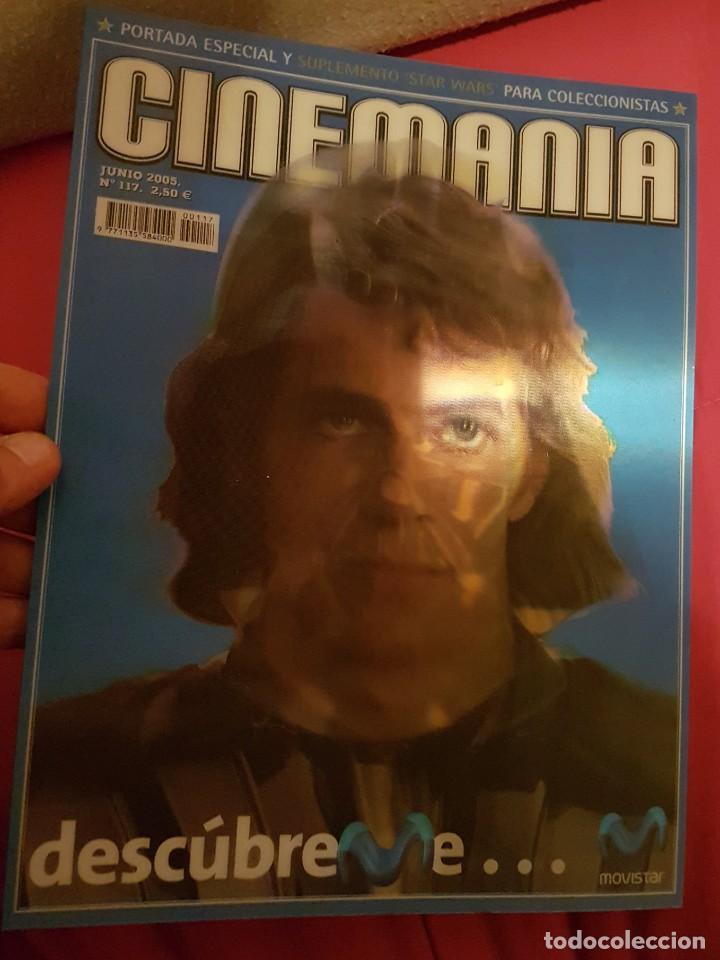 Cine: Portada revista cinemania Star wars - Foto 3 - 245127500