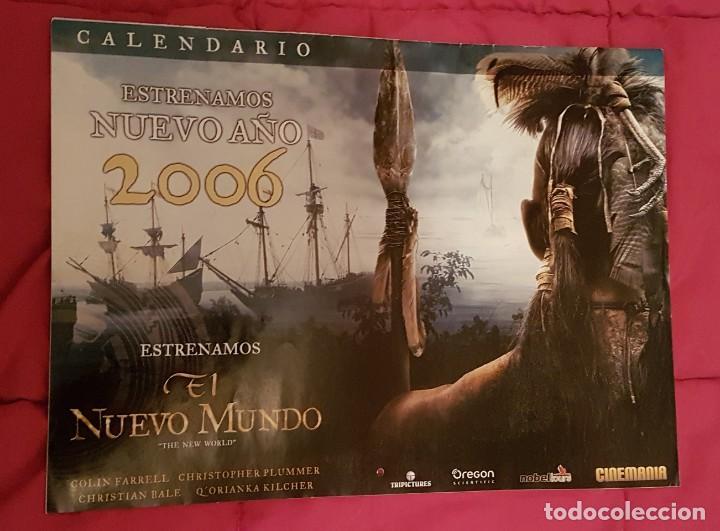 CALENDARIO CINEMANIA EL NUEVO MUNDO (Cine - Revistas - Cinemanía)