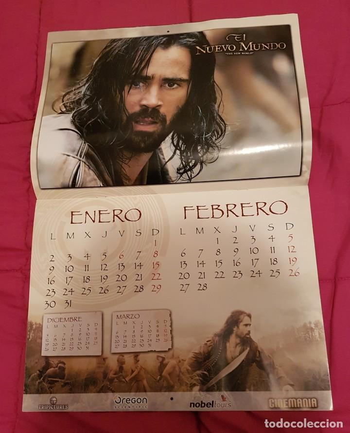 Cine: Calendario cinemania El nuevo mundo - Foto 3 - 245127870