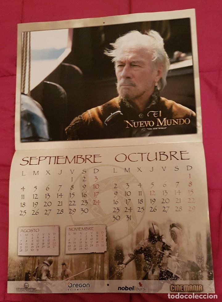 Cine: Calendario cinemania El nuevo mundo - Foto 4 - 245127870