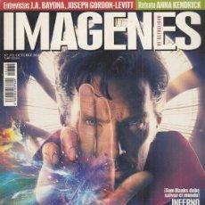 Cine: REVISTA IMAGENES DE LA ACTUALIDAD Nº 372 AÑO 2016. DOCTOR STRANGE. LA CHICA DEL TREN.. Lote 245234595
