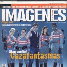 Cine: REVISTA IMAGENES DE LA ACTUALIDAD Nº 370 AÑO 2016. CAZAFANTASMAS. INDEPENDENCE DAY 2.. Lote 245234930