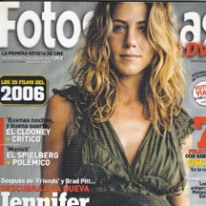 Cine: REVISTA FOTOGRAMAS 2006: JENNIFER ANISTON. Lote 245239960