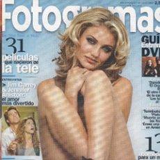 Cine: REVISTA FOTOGRAMAS 2003: CAMERON DIAZ. Lote 245244865