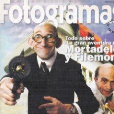 Cine: SUPLEMENTO REVISTA FOTOGRAMAS: TODO SOBRE LA GRAN AVENTURA DE MORTADELO Y FILEMÓN.. Lote 245247190
