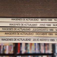 Cinema: REVISTA DE CINE IMÁGENES DE ACTUALIDAD, 1989-2021, EN MUY BUEN ESTADO, SE PREPARAN LOTES. Lote 243781850