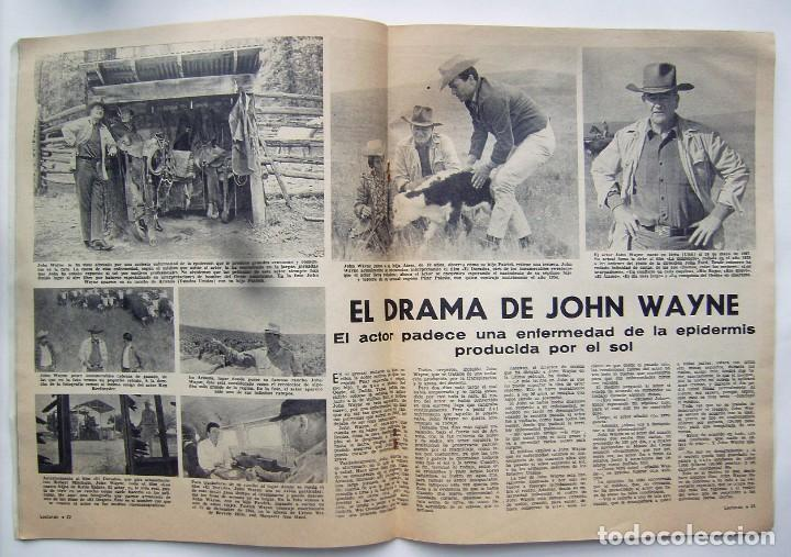 Cine: CLAUDIA CARDINALE. JOHN WAYNE. REVISTA LECTURAS de 1966. - Foto 3 - 245306970
