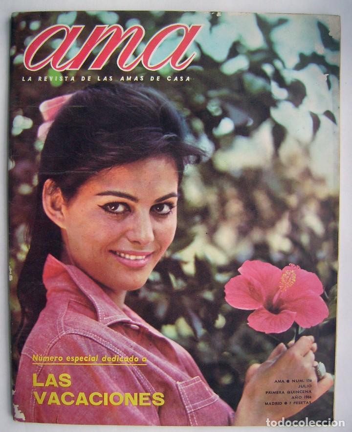 CLAUDIA CARDINALE. REVISTA AMA DE 1966. (Cine - Revistas - Otros)