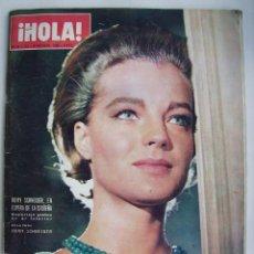 Cine: ROMY SCHNEIDER. GRETA GARBO. GINA LOLLOBRÍGIDA. REVISTA HOLA DE 1966.. Lote 245309250