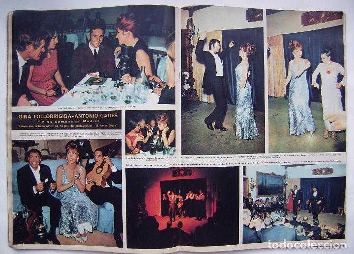 Cine: ROMY SCHNEIDER. GRETA GARBO. GINA LOLLOBRÍGIDA. REVISTA HOLA de 1966. - Foto 5 - 245309250