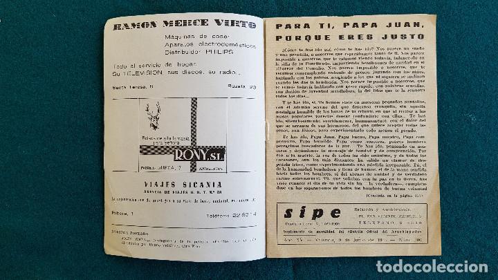 Cine: CARTELERA DEL ESPECTACULO SIPE Nº 700 (1963) CINES VALENCIA - RW - Foto 2 - 245353005