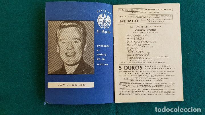 Cine: CARTELERA DEL ESPECTACULO BAYARRI Nº 165 (1960) CINES VALENCIA - RW - Foto 2 - 245353300