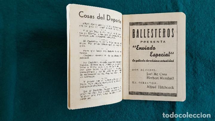 Cine: CARTELERA DE ESPECTACULOs SEMANA 50 (1944) CINES VALENCIA - RW - Foto 3 - 245360795