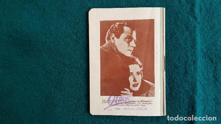 Cine: CARTELERA DE ESPECTACULOs SEMANA 50 (1944) CINES VALENCIA - RW - Foto 6 - 245360795