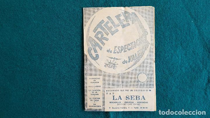 CARTELERA DE ESPECTACULOS Nº 72 (1964) CINES VALENCIA - RW (Cine - Revistas - Otros)