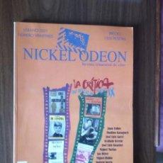 Cinema: REVISTA TRIMESTRAL DE CINE NICKEL ODEON Nº 23 - VERANO 2001 LA CRÍTICA. UN OFICIO DEL SIGLO XX. Lote 245364670