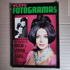 Cinema: NT NUEVO FOTOGRAMAS 1110 ROCIO DURCAL JUNIOR SARA MONTIEL GONZALO SUAREZ LA RESIDENCIA SERRADOR. Lote 245382520