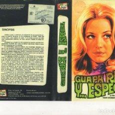 Cine: - REPRODUCCION DE CARATULA - GUAPA RICA Y ESPECIAL - PAPEL FOTOGRAFICO. Lote 245442510