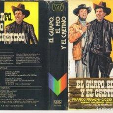 Cine: - REPRODUCCION DE CARATULA - EL GUAPO EL FEO Y EL CRETINO - PAPEL FOTOGRAFICO. Lote 245443775