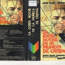 Cine: - REPRODUCCION DE CARATULA - LA CORTA NOCHE DE LA MUÑECA DE CRISTAL - PAPEL FOTOGRAFICO. Lote 245444255