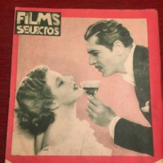 Cine: REVISTA FILM SELECTOS 1933 WARNER BAXTER ELISSA LANDI JOAN CRAWFORD JEAN HARLOW JUNE LANG. Lote 245605470