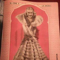 Cine: REVISTA FILM SELECTOS 1933 FRANCES DEE JOAN CRAWFORD DOROTHEA WIECK FELIX POMES FAY WRAY. Lote 245605665