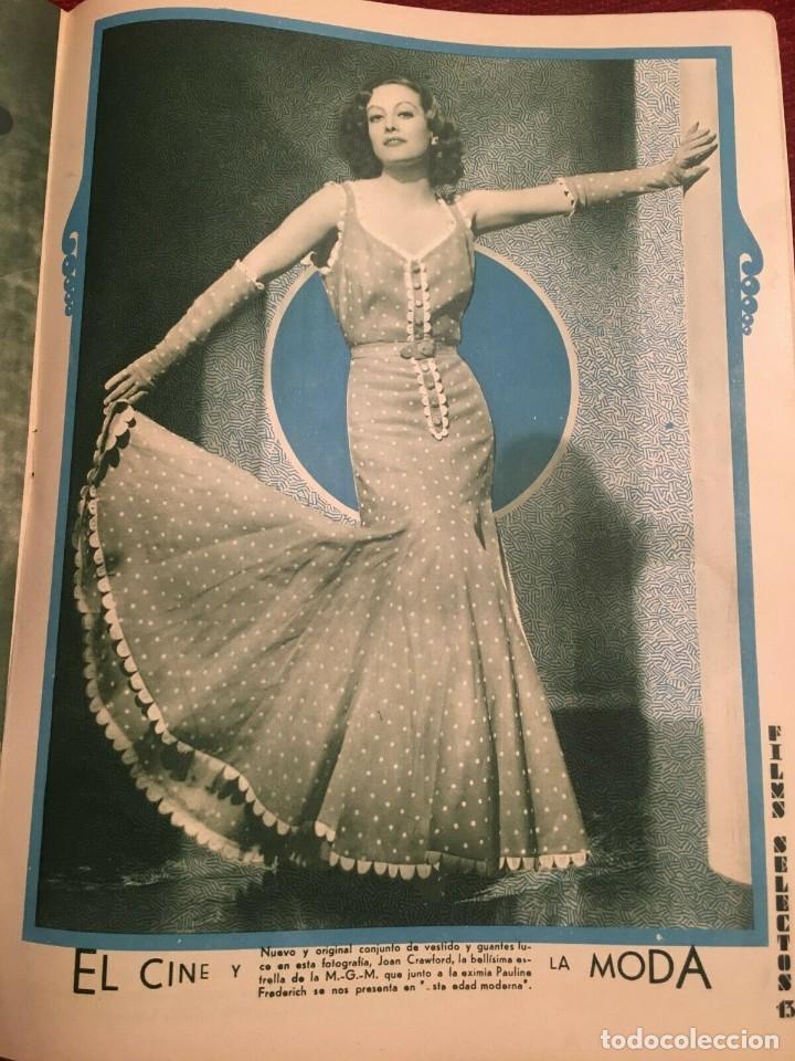 Cine: REVISTA FILM SELECTOS 1933 Elissa Landi Joan Crawford Peggy Shannon Cary Grant Marie Prevost - Foto 2 - 245606200